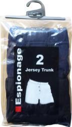 ESPIONAGE COTTON JERSEY BOXER SHORTS - Twin Pack  2 - 8XL