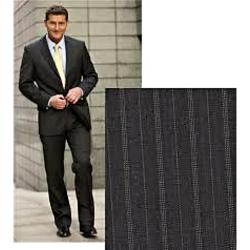 CLEARANCE -  OAKMAN 'LIFE AND LIMB'  FORMAL JACKET with Lycra DARK GREY STRIPE 50""