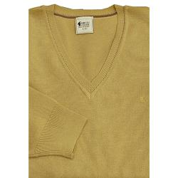 GABICCI Plain Wool Blend sweater HONEY 3XL