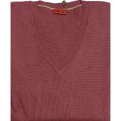 GABICCI Plain Wool Blend sweater REDCURRANT 3XL